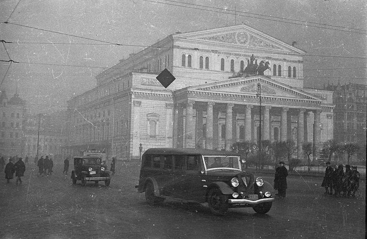 Moscow, Russia, vintage photos 15