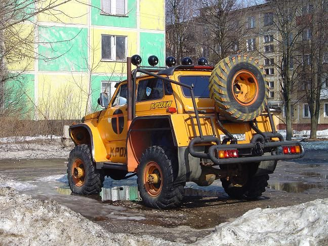 weird Russian tuning and car modifications 113