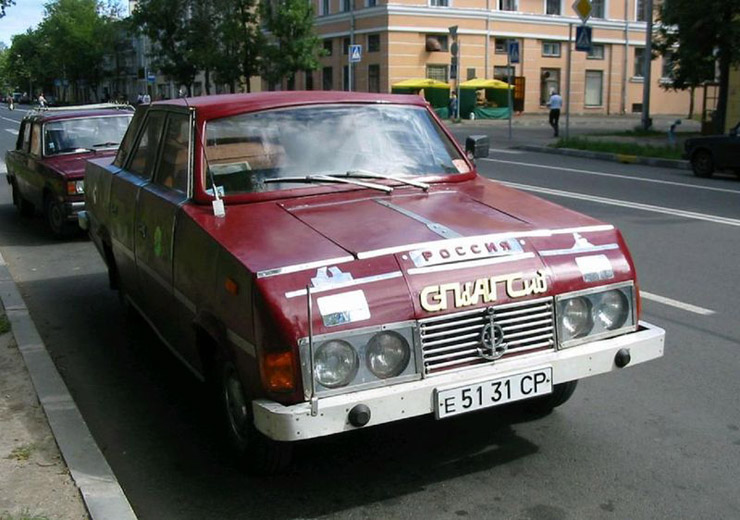 weird Russian tuning and car modifications 125