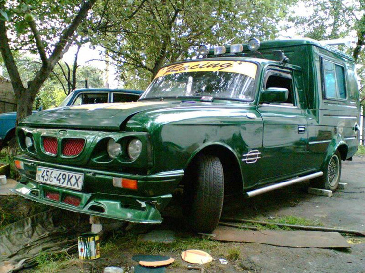 weird Russian tuning and car modifications 128