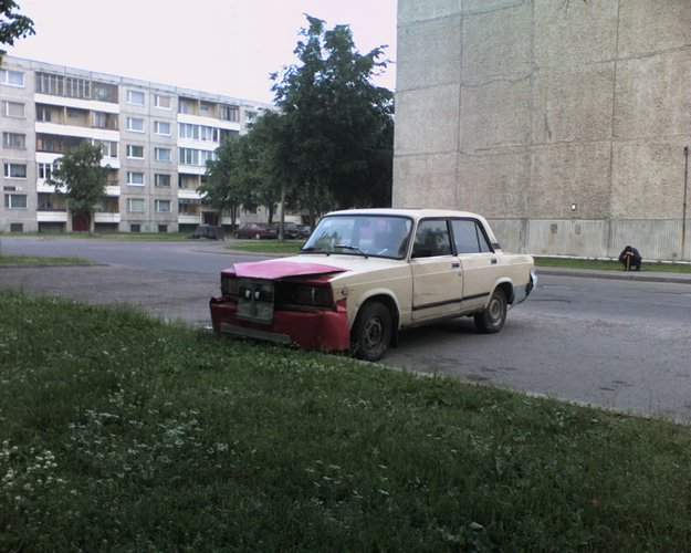 weird Russian tuning and car modifications 13