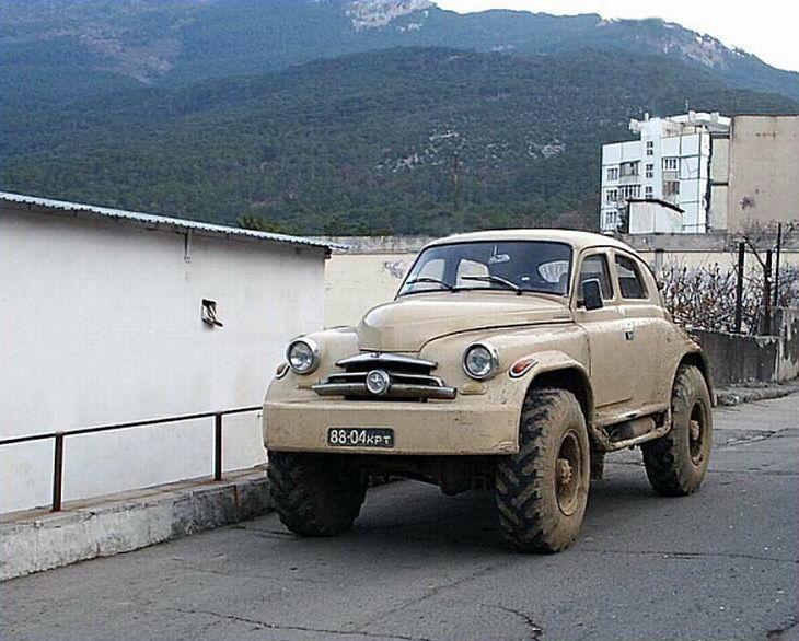 russisk bil