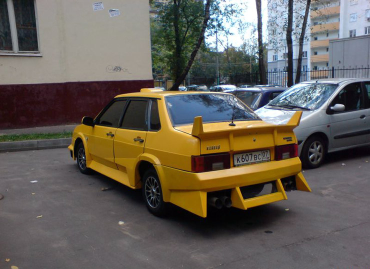 weird Russian tuning and car modifications 138