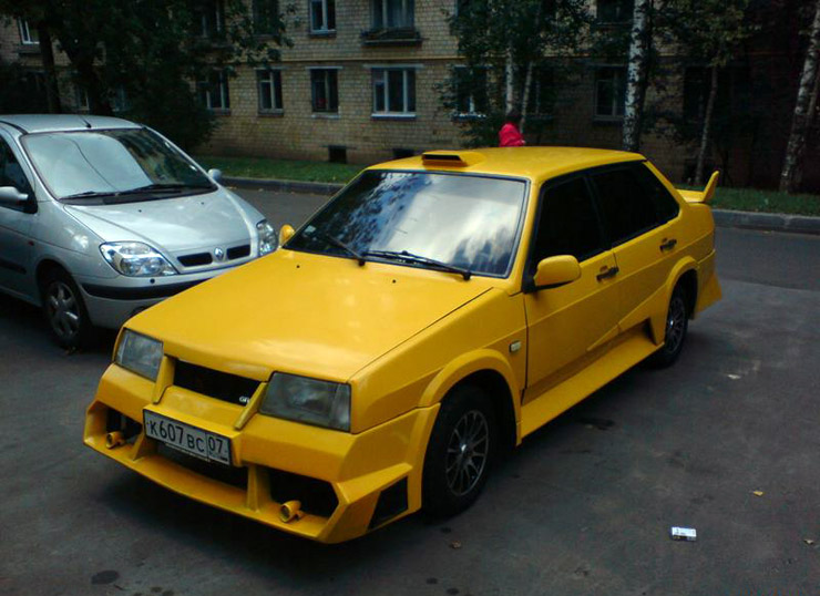 weird Russian tuning and car modifications 139
