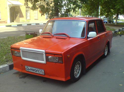 weird Russian tuning and car modifications 153