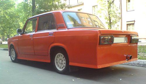 weird Russian tuning and car modifications 154