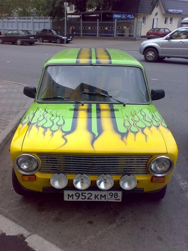 weird Russian tuning and car modifications 161