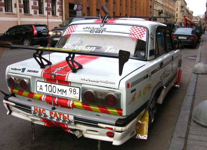 weird Russian tuning and car modifications 165