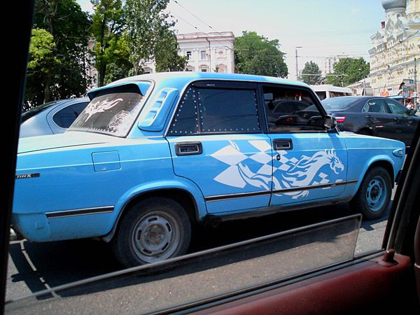 weird Russian tuning and car modifications 21
