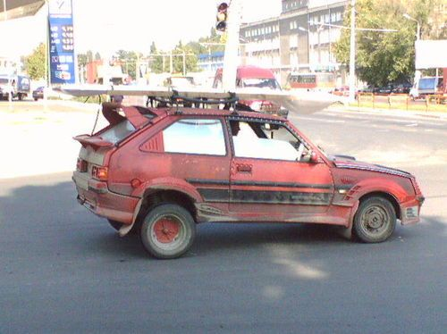 weird Russian tuning and car modifications 31