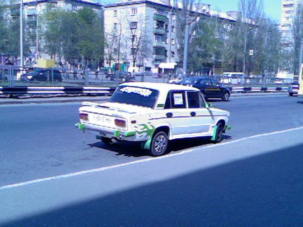 weird Russian tuning and car modifications 33