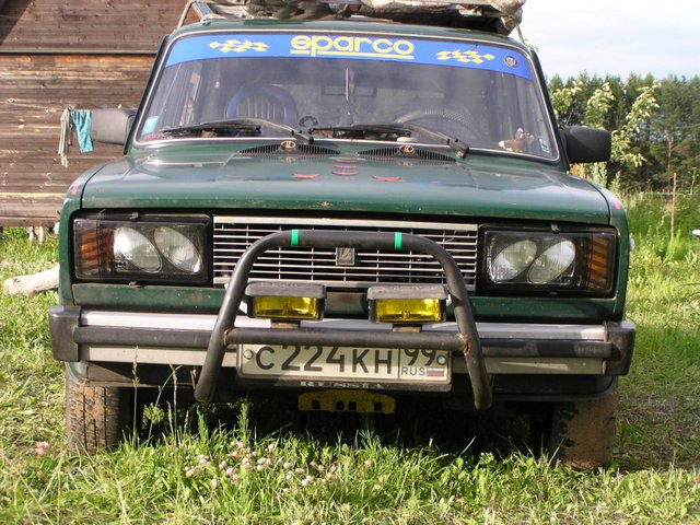 weird Russian tuning and car modifications 4