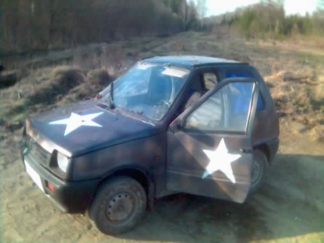 weird Russian tuning and car modifications 49
