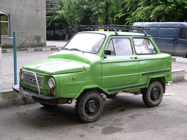 weird Russian tuning and car modifications 53