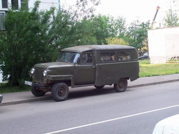 weird Russian tuning and car modifications 57