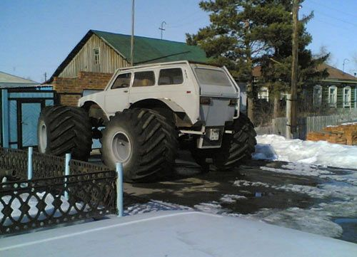 weird Russian tuning and car modifications 81