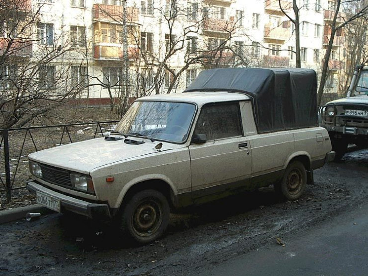 weird Russian tuning and car modifications 82