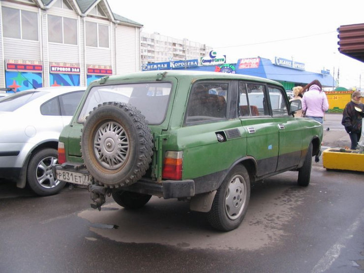 weird Russian tuning and car modifications 83