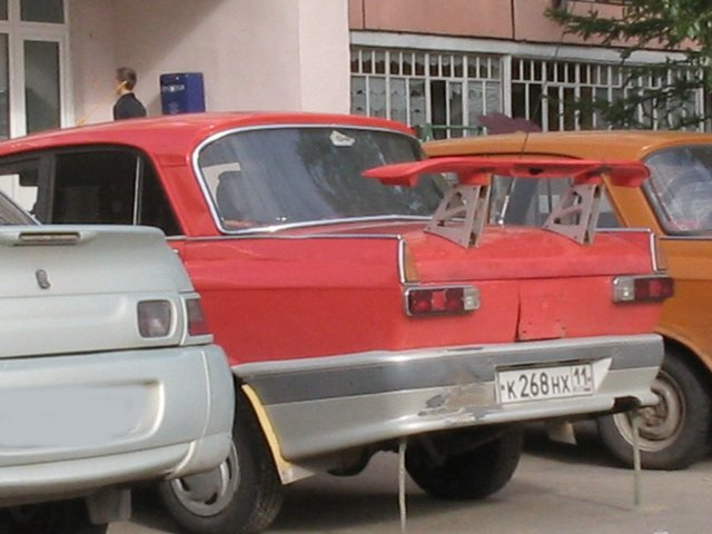 weird Russian tuning and car modifications 9