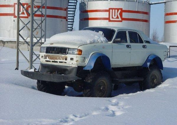 weird Russian tuning and car modifications 91