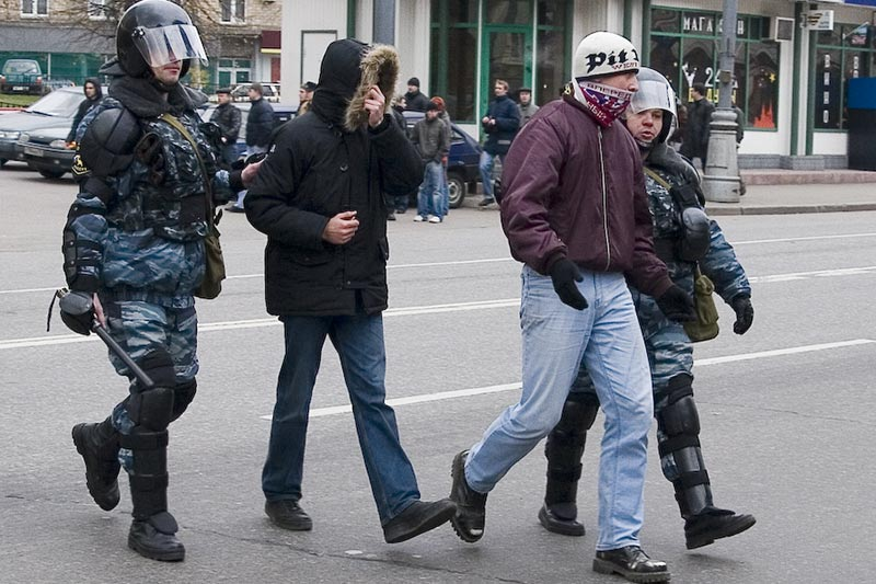 disorder in Moscow city