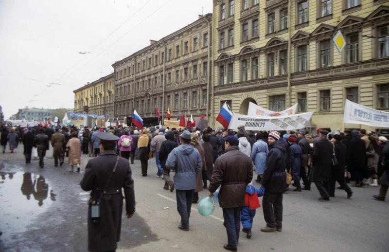 Moscow And Leningrad in 1990 19