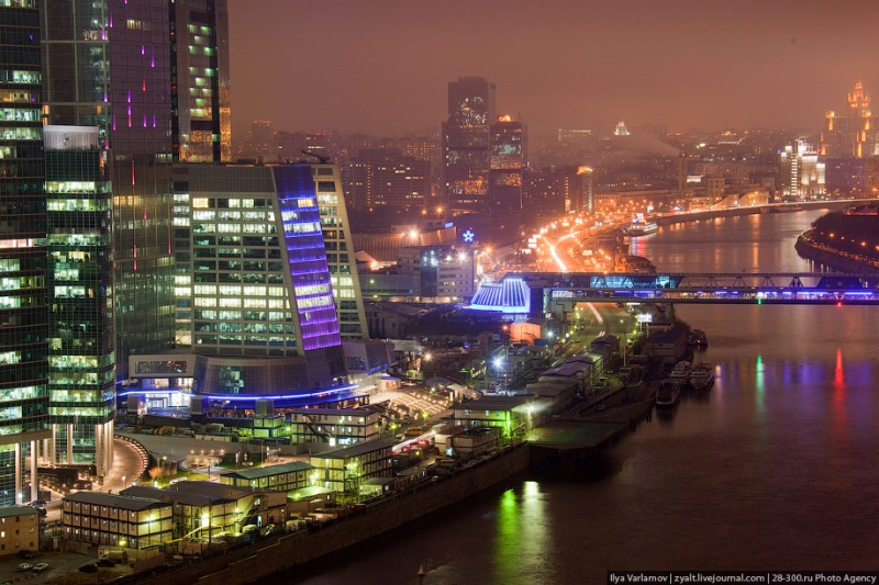Moscow City in Fog 20