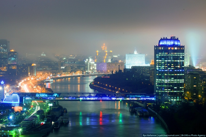 Moscow City in Fog 27