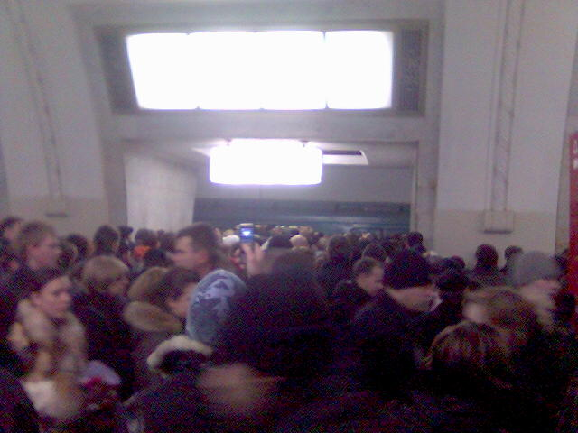 Moscow subway in Russia 1