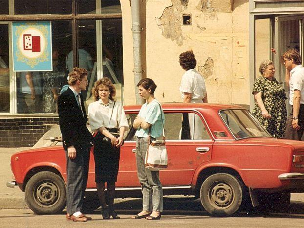Moscow at the end of 80s 13