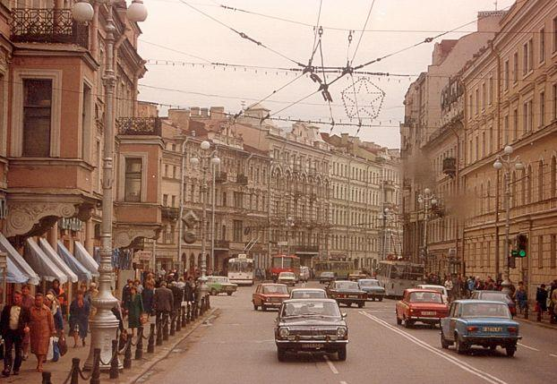Moscow at the end of 80s 15