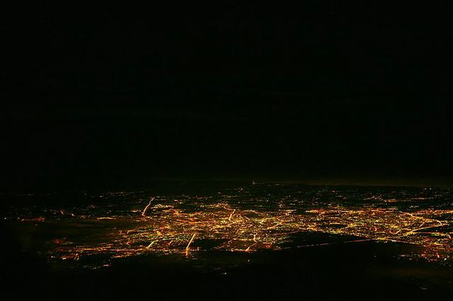Landing in Airport of Moscow