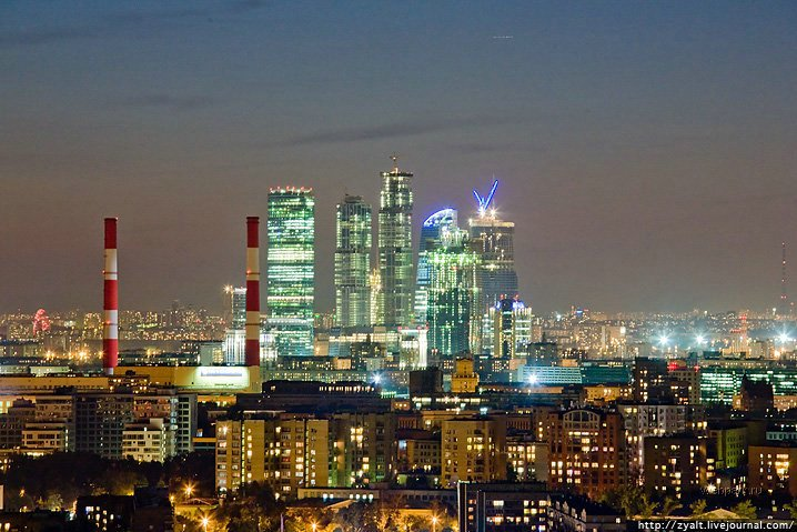 Moscow city view 12
