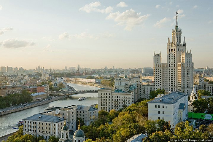 Moscow city view 25