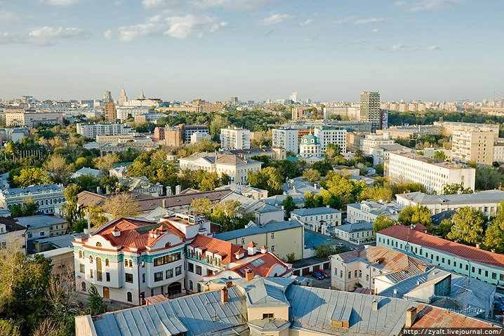 Moscow city view 28