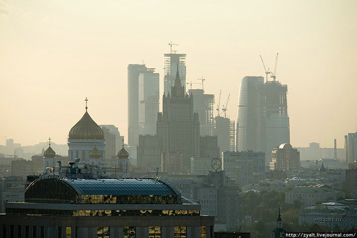 Moscow city view 34