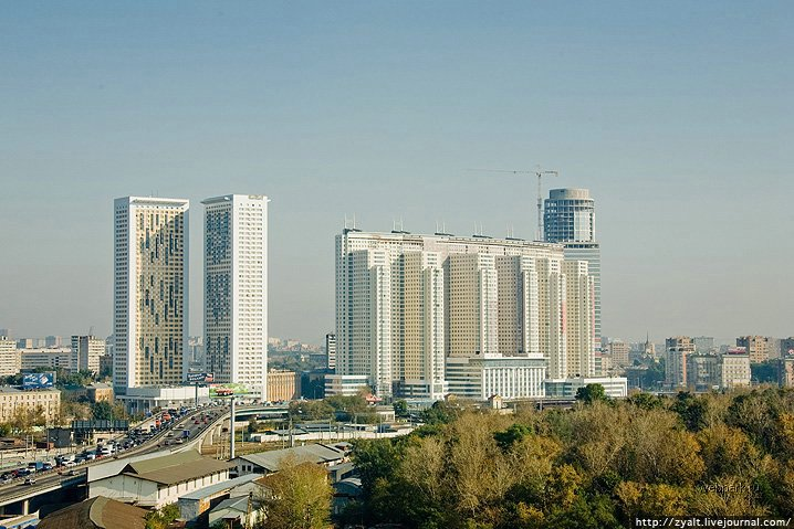 Moscow city view 38