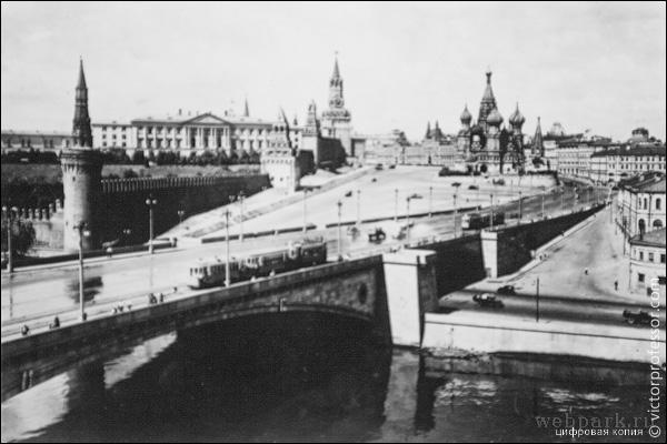 Russia, Moscow, vintage photo 2