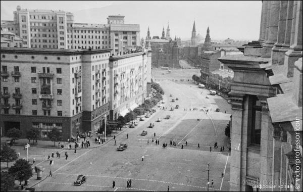 Russia, Moscow, vintage photo 4