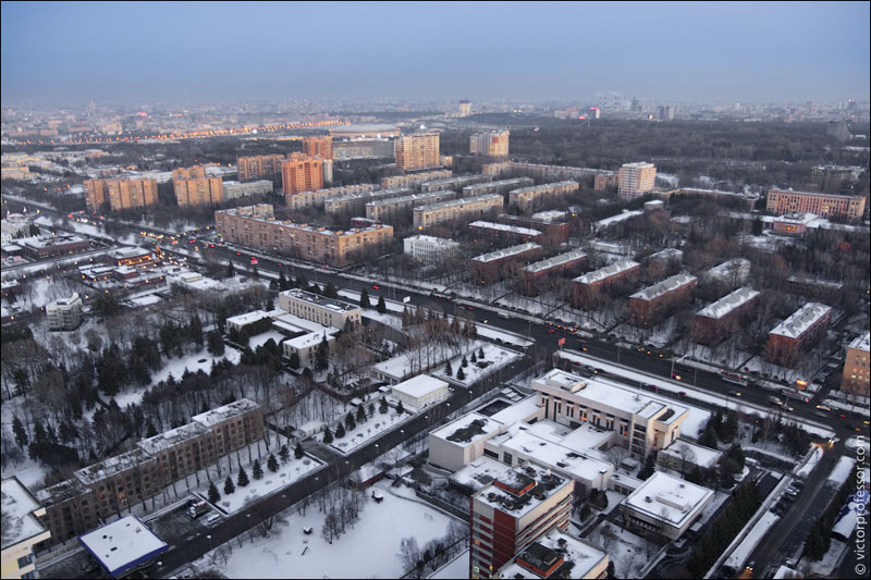 Views of Moscow, Russia 1