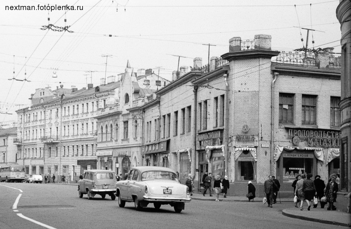 Moscow in the past and nowadays 13
