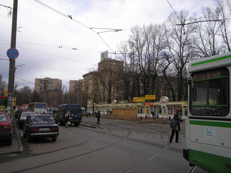 Moscow in the past and nowadays 21