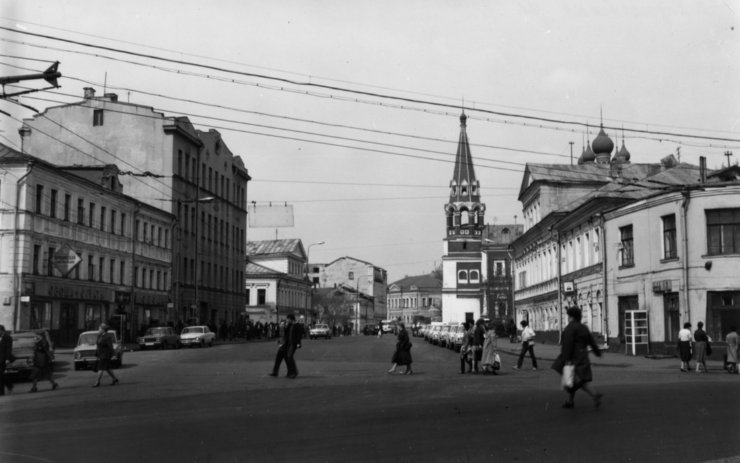 Moscow in the past and nowadays 35