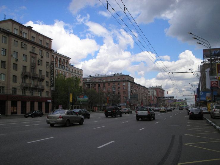 Moscow in the past and nowadays 49