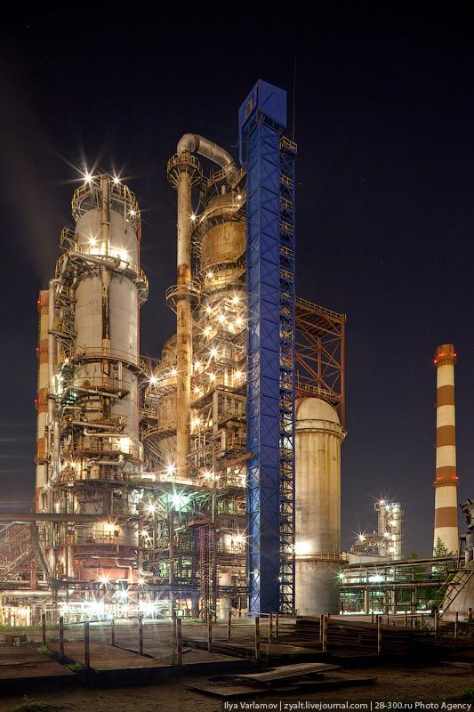 Refinery in Moscow 9