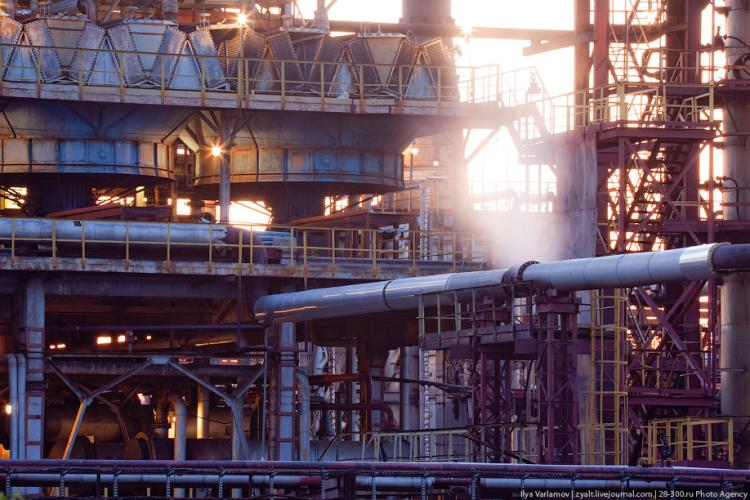 Refinery in Moscow 10