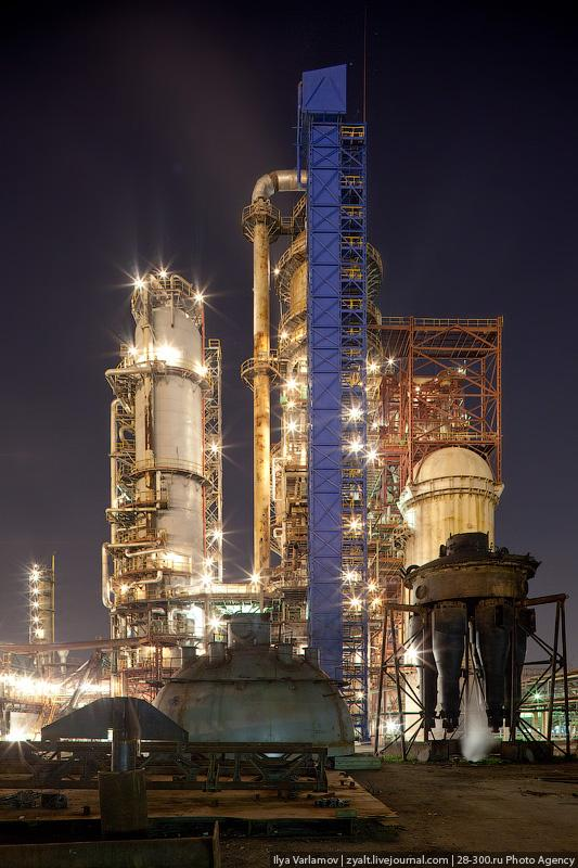 Refinery in Moscow 11