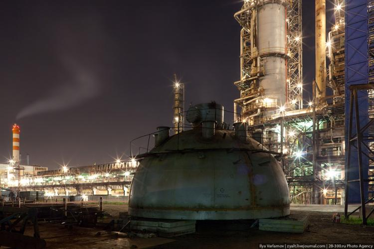 Refinery in Moscow 12