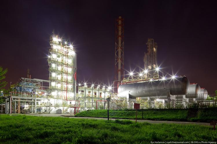 Refinery in Moscow 14