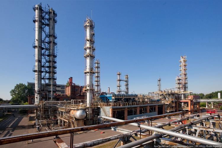 Refinery in Moscow 15